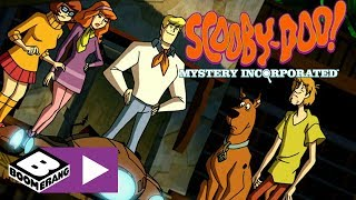 Scooby-Doo! Mystery Incorporated   Kriegstaffebots Shoot At The Gang   Boomerang UK 🇬🇧
