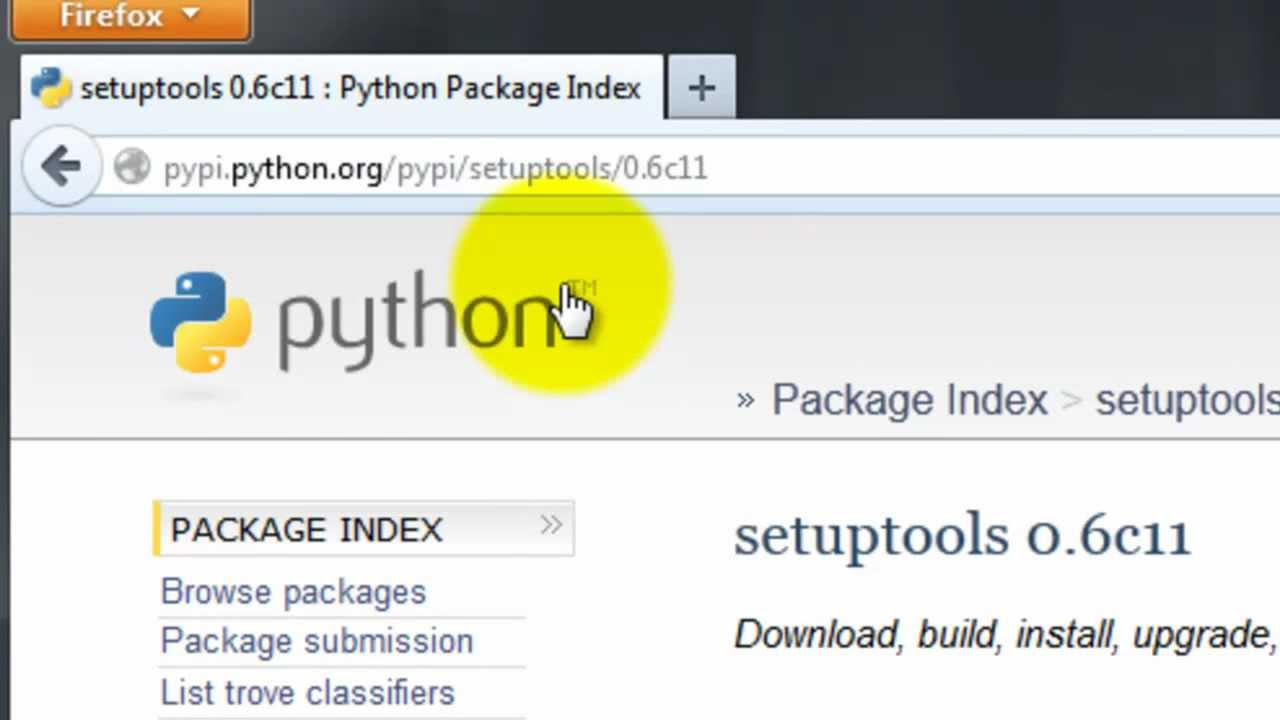 download python packages in windows how to install them