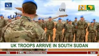 Network Africa: UK Troops Arrive Juba, South Sudan