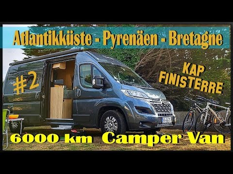 Citroen Jumper - Camper . Clever Vans -Das Ende der Welt- Kap Finisterre -6000 Km Atlanitikküste 2/4
