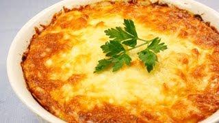 Картофельная запеканка видео рецепт(На странице http://za100le.ru/roast/potato-casserole.html Вас ждут подробные фото и ингредиенты этого рецепта., 2012-12-11T17:27:08.000Z)