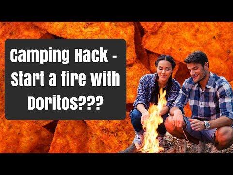 "Fire Starters ""Will It Burn?"" - Homemade Doritos Survival Fire Starters"