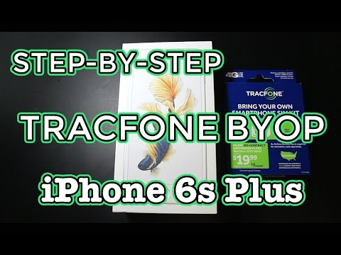 How To Set Up Smartphone With Tracfone Byop Step