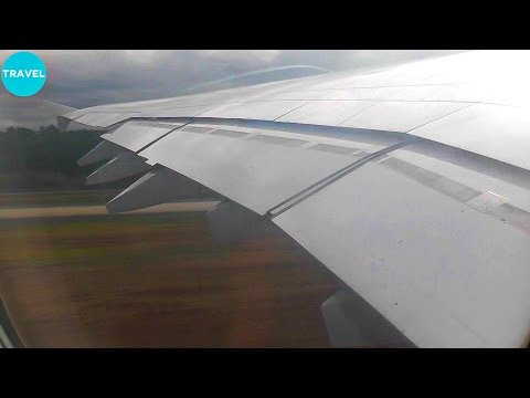 Lufthansa A380 Pushback, Taxi and Takeoff from Frankfurt + Cabin and Meal!