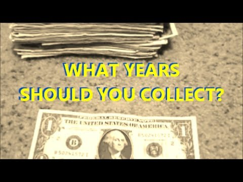 Collecting OLD paper money from circulation - Finding old u.s. currency
