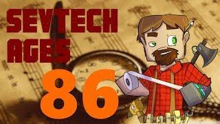 1.12 Modded Minecraft SevTech Ages: Episode 86: Mercury Boss Fight!