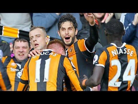 Ranocchia gol vittoria a 5 minuti dalla fine - Hull City - West Ham 2-1 (Ranocchia Winning Goal)
