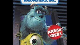 Monsters Inc Scream Arena Gamecube Longplay