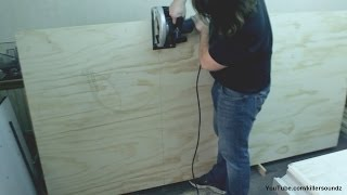 How to Cut Plywood Vertically with a Circular Saw