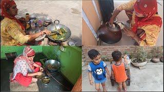 Village Life Morning Routine 🧡 Breakfast Morning 🖤 Village Cooking Food