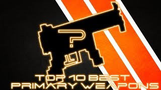 TOP 10 BEST PRIMARY WEAPONS   Pixel Strike 3D