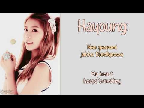 A Pink - U You [English Lyrics, Member Coded + Romanisation] HD