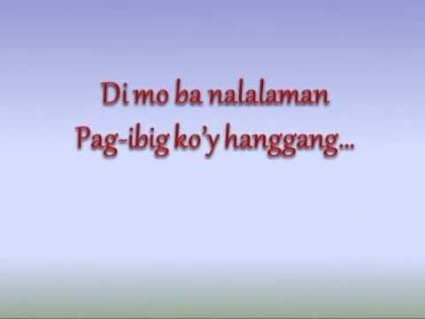 Pangarap Ka Na Lang Ba by Jamie Rivera