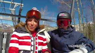 SnowMotion 2018 Chairlift Interview - Red Gerard