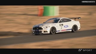 GT Sport Closed Beta - Ford Mustang Gr.4 Gameplay