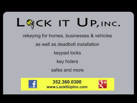 Lock It Up Locksmith Promo