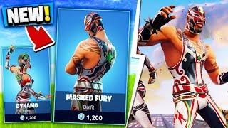 NEW MASKED FURY FORTNITE SKIN!