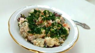 Салат с мясом. Самый вкусный!!!