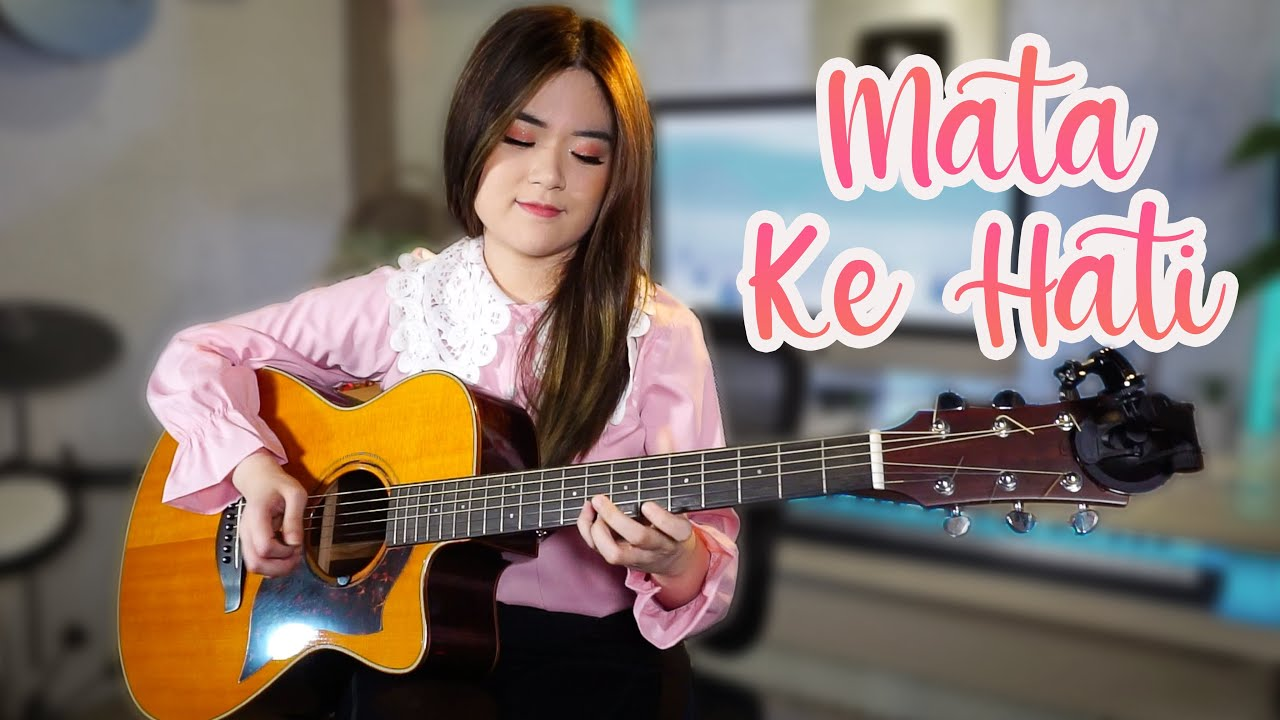 (HIVI!) Mata Ke Hati - Acoustic Guitar Cover   Josephine Alexandra ft. Casper Esmann