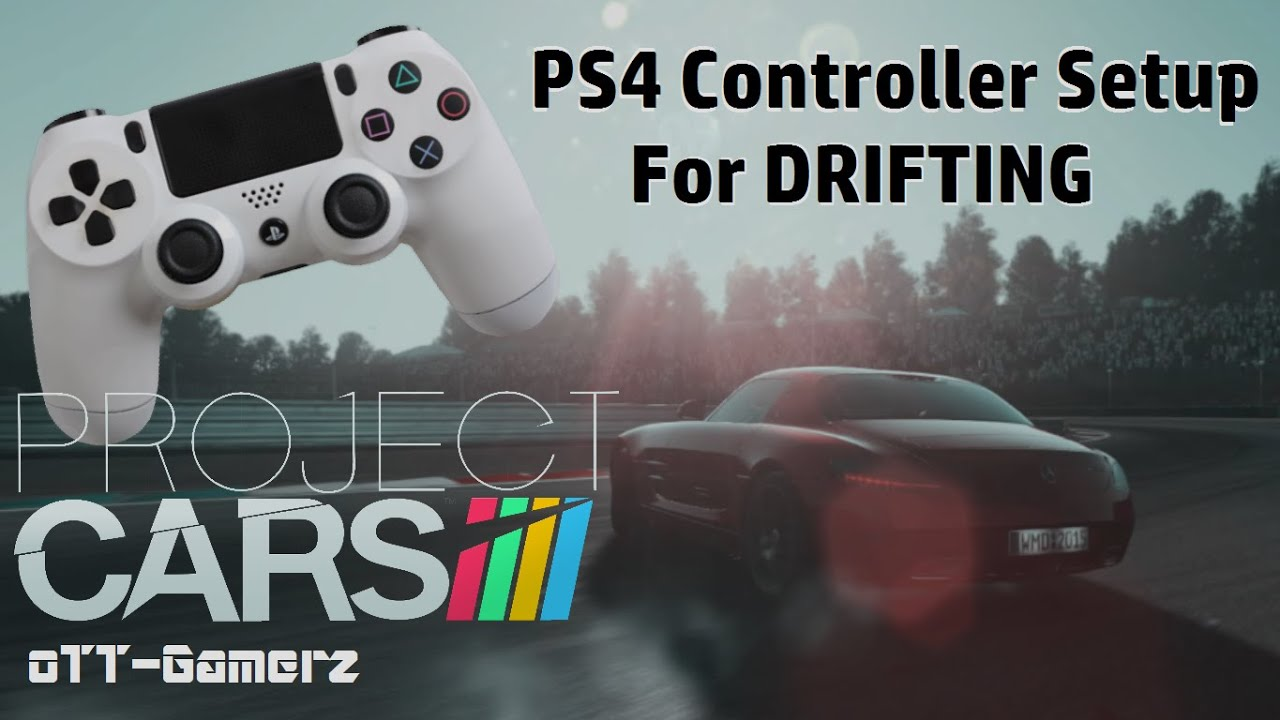 Project Cars  Drifting With Controller
