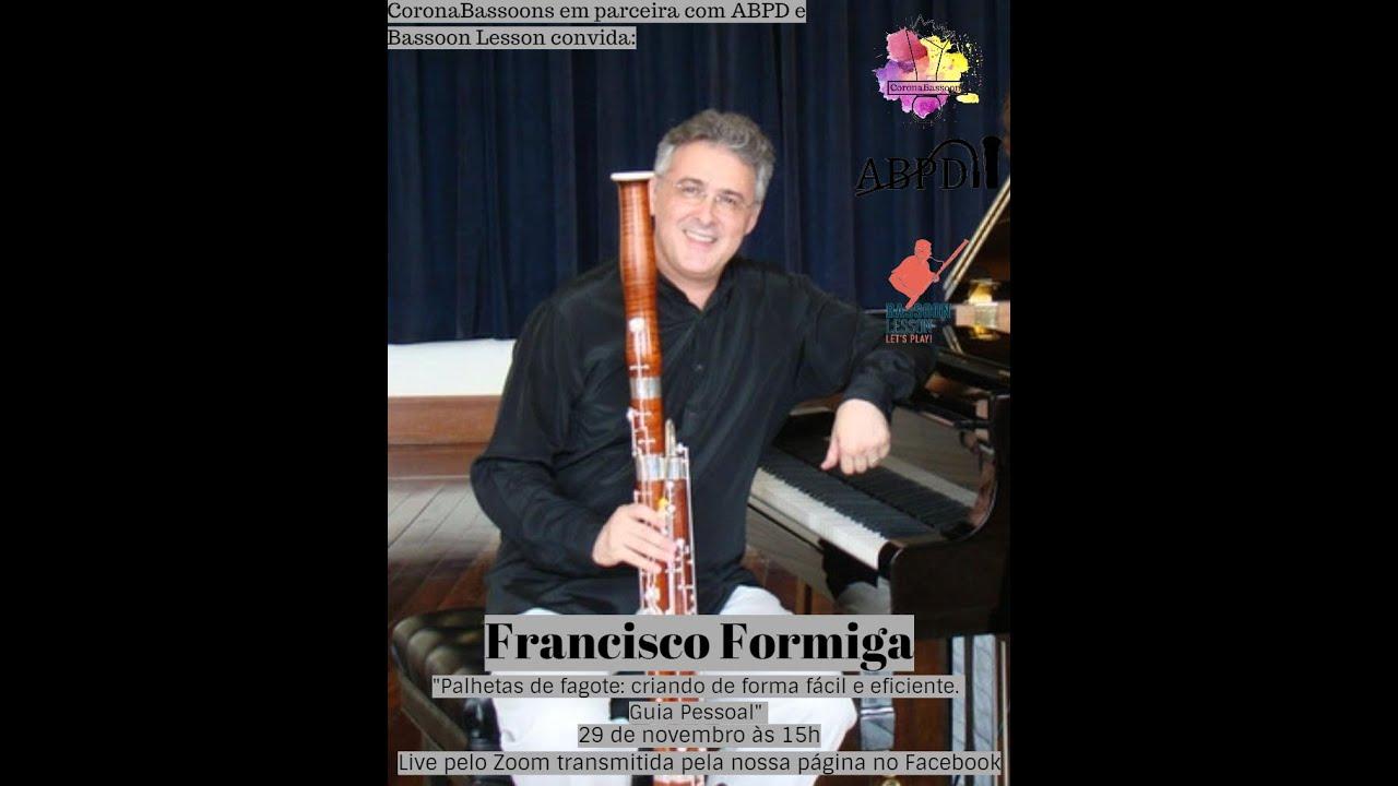 Live com Francisco Formiga - Tema: Lançamento do Livro!