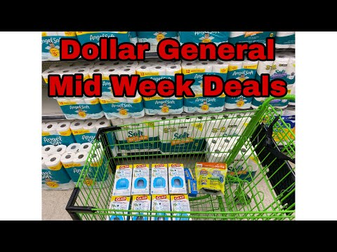 Dollar General: Best Mid-Week Deals For The Week - Great Time To Stock Up