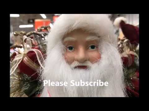 Jingle Bells ,Christmas in HOME DEPOT with trees indoor & ou