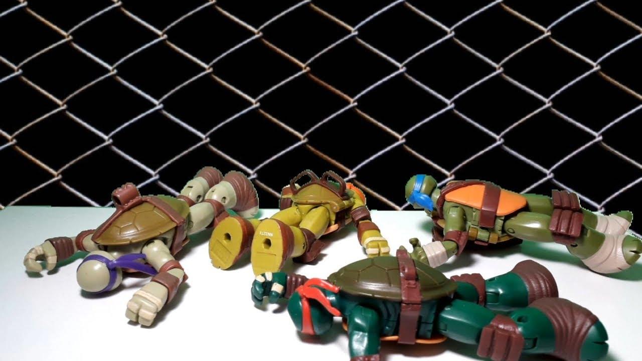 Teenage Mutant Ninja Turtles STOP MOTION, S3E4: Boxed In
