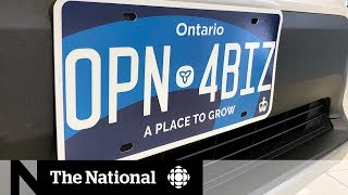 Complaints About Visibility Of New Ontario Licence Plates