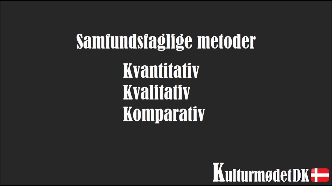 Metoder og Taksonomien i Samfundsfag