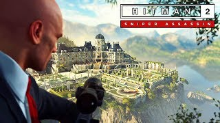 HITMAN 2 - Sniper Assassin Walkthrough (Silent Assassin) @ 1440p (60ᶠᵖˢ) QHD ✔