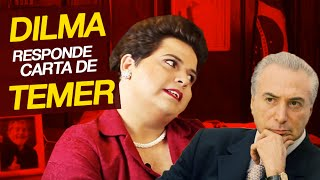 Dilma responde a Michel Temer. thumbnail