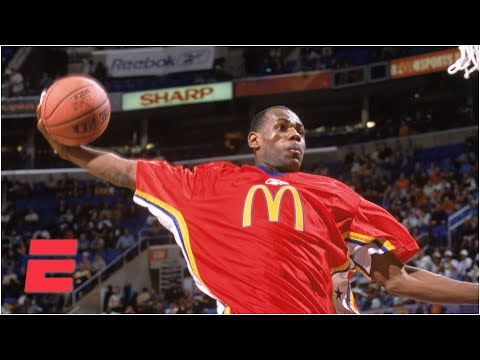 LeBron James dominates the McDonald's All-American Game (2003) | ESPN Archive