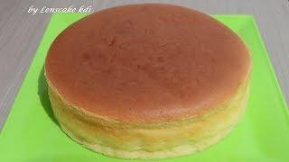Resep Cara Mudah Membuat Kue Bolu Japanese Cheese Cake Bisa untuk dasar Kue Ulang Tahun