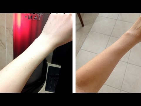 My First Spray Tan Experience! Pale Gal Goes Tan!