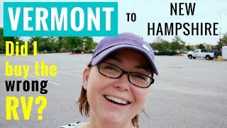 Vermont to New Hampshire Road Trip | Solo Female Traveler