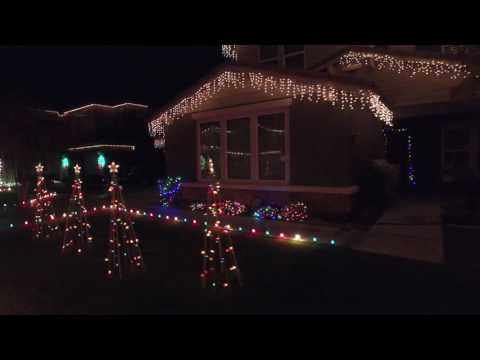 Best Christmas lights display in Arizona!