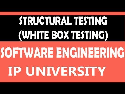 Structural Testing or White Box Testing | Software Testing | #39 Software Engineering Unit 4