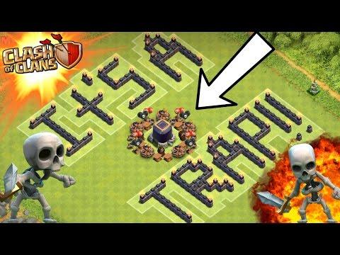 Clash Of Clans | FREE DARK ELIXIR!?! | OMG IT'S A TRAP!!!