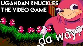 Ugandan Knuckles NES Game?! DE WAY LEMMINGS