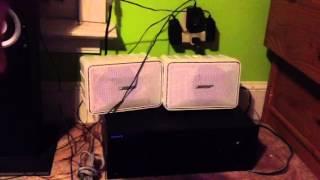 bose 101 studio speakers review test
