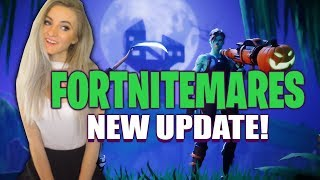 Fortnite - NEW FORTNITEMARES UPDATE COUNTDOWN! 1200+ Solo Wins. Live Now :)