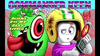 Longplay: Commander Keen 6 - Aliens Ate My Baby Sitter! (1991) [MS-DOS]