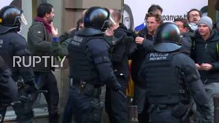 Spain: Police clash with protesters amid King's Barcelona visit