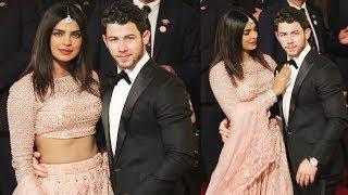 Priyanka Chopra Royal Entry With Husband Nick Jonas At Isha Ambani Wedding
