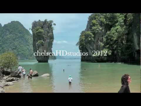 Phuket, Patong, James Bond Island, Andaman Sea, Thailand.  2