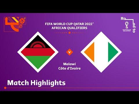 Malawi v Côte d'Ivoire | FIFA World Cup Qatar 2022 Qualifier
