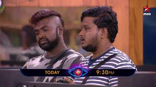 Pick & Choose with a reason #BiggBossTelugu2 Today at 9:30 PM on @StarMaa