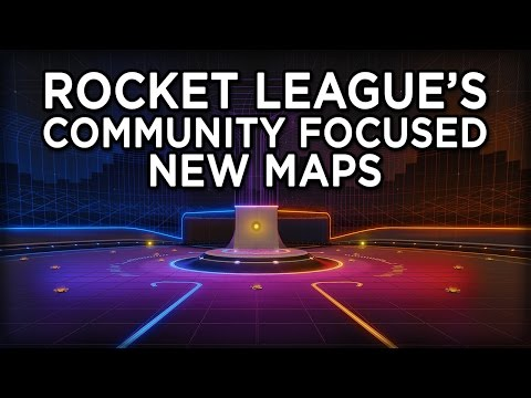 Inside Look: Rocket League's Brand New Maps