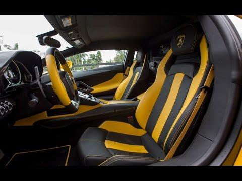 Lamborghini Aventador LP700 4 Start Up Engine Sound Revs Drive Exterior Interior Dashboard